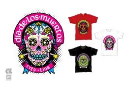 Camiseta Citi Line • Dia de Los Muertos 04