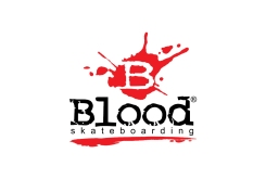 Marca de Skateboard • Blood