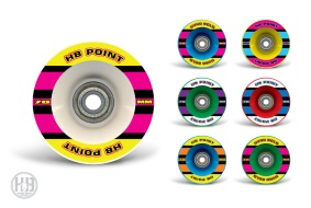 Rodas Longboard Hyro Bold • 70mm 2