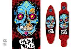 Shape Longboard • City Line 31
